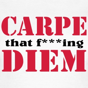 Carpe that f***ing Diem T-skjorter - T-skjorte for kvinner