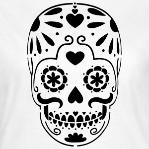 Day of the Dead Skull T-Shirts - Women's T-Shirt