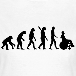 Evolution Rollstuhl T-Shirts - Frauen T-Shirt