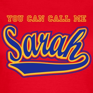 Sarah - T-shirt personalised with your name T-Shirts - Women's T-Shirt