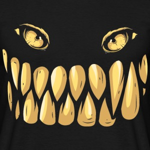 Monsterface Monstergesicht - bananaharvest T-Shirts - Männer T-Shirt