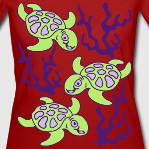 Turtles and Seaweed T-Shirts - Women's Organic T-shirt