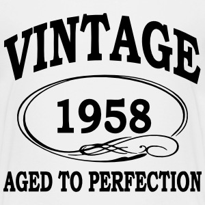 Vintage 1957 Aged To Perfection Shirts - Teenage Premium T-Shirt