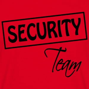 Security Team  T-shirts - Herre-T-shirt