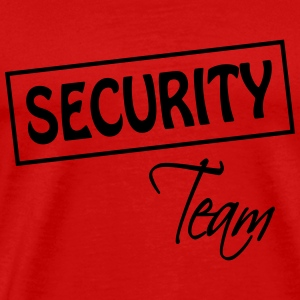 Security Team  Camisetas - Camiseta premium hombre