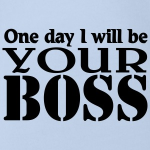 One day I will be your Boss Shirts - Organic Short-sleeved Baby Bodysuit