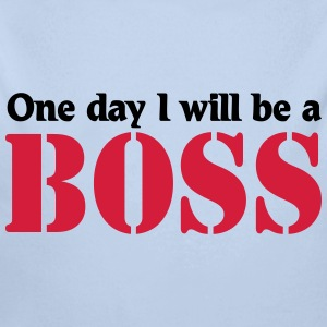 One day I will be a Boss Sweats - Body bébé bio manches longues