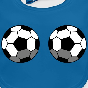 two soccer balls Accessories - Baby Organic Bib
