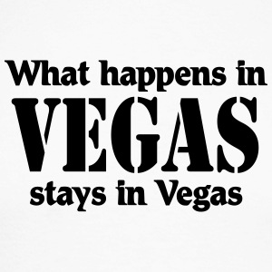 What happens in Vegas, stays in Vegas Skjorter med lange armer - Langermet baseball-skjorte for menn