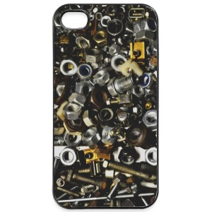 screws skruer Mobil- & tablet-covers - iPhone 4/4s Hard Case