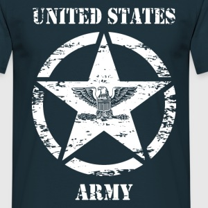 us vintage army star 03 T-Shirts - Men's T-Shirt
