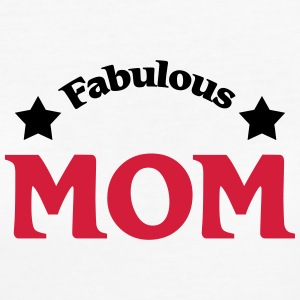 Fabulous Mom T-shirts - Ekologisk T-shirt dam