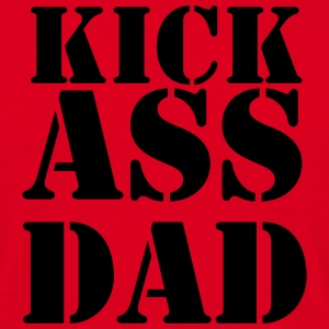 Kick ass Dad T-shirts - T-shirt herr