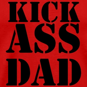 Kick ass Dad T-shirts - Premium-T-shirt herr