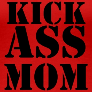 Kick ass Mom T-shirts - Premium-T-shirt dam