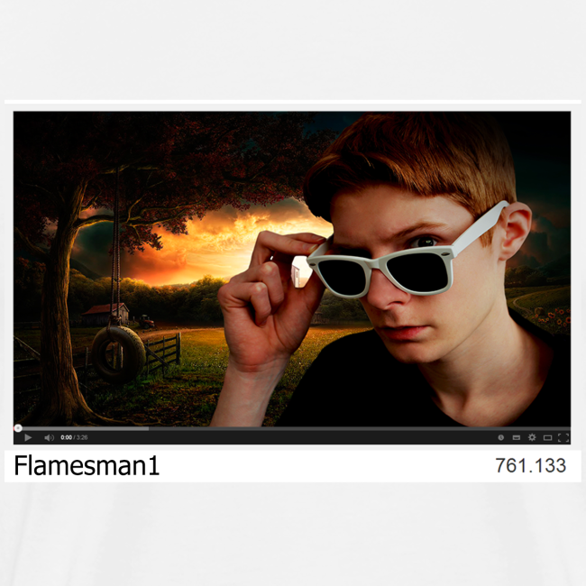 Flamesman1 på YouTube (unisex)