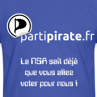 Motif ~ Tee-shirt Parti Pirate NSA