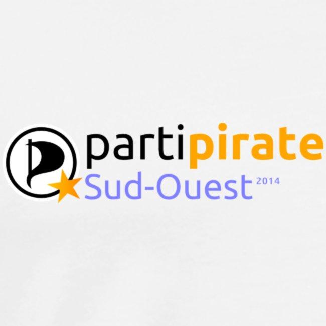 Tee-Shirt Parti Pirate Parti Pirate Sud Ouest