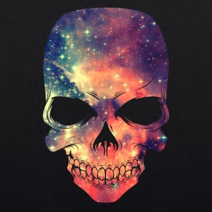 Universe - Space - Galaxy Skull Bags & Backpacks - EarthPositive Tote Bag