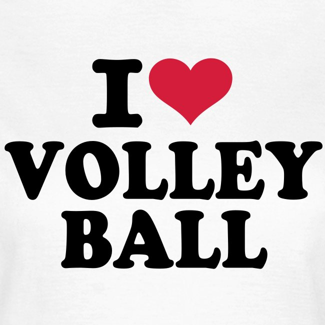 Womens Tour I Love Volleyball