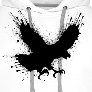 Street art bird Hoodies & Sweatshirts - Men's Premium Hoodie