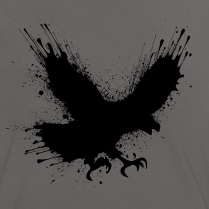 Abstract splashes of color - Street art bird  T-shirts - Vrouwen contrastshirt