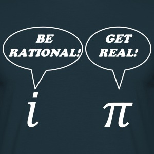 Math: Get Real - T-shirt Homme