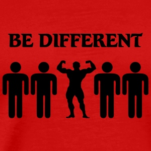 Be different T-Shirts - Männer Premium T-Shirt