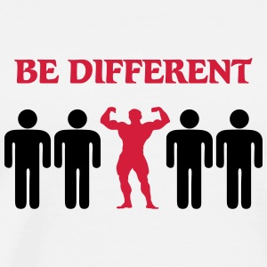 Be different T-shirts - Mannen Premium T-shirt