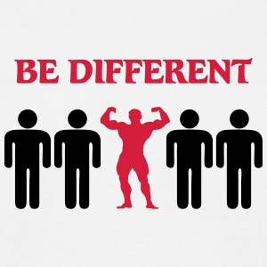 Be different T-shirts - T-shirt herr