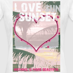 Love Sunset - Frauen T-Shirt