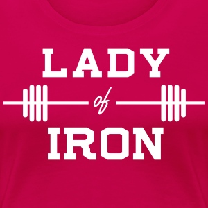Lady of Iron T-Shirts - Women's Premium T-Shirt