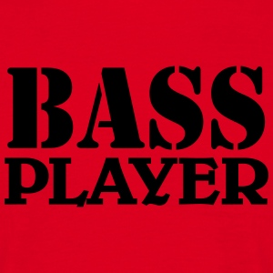 Bass Player Tee shirts - T-shirt Homme