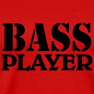 Bass Player Tee shirts - T-shirt Premium Homme