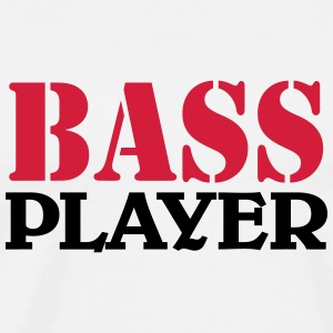 Bass Player T-Shirts - Männer Premium T-Shirt