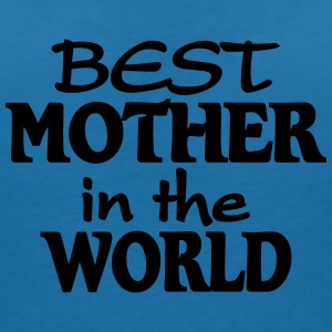 Best Mother in the World T-shirts - T-shirt med v-ringning dam