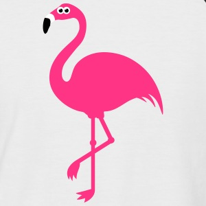 Funny Sweet Flamingo T-Shirts - Men's Baseball T-Shirt