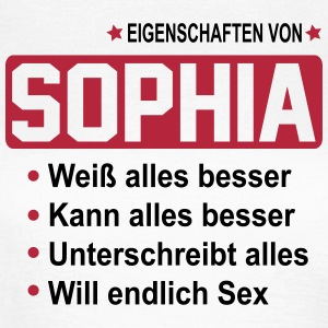 sophia T-Shirts - Frauen T-Shirt