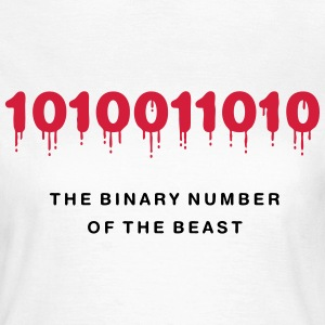 The Binary Number of the Beast - Women's T-Shirt