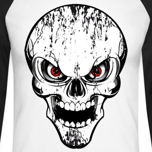 skull grunge style Tee shirts manches longues - T-shirt baseball manches longues Homme