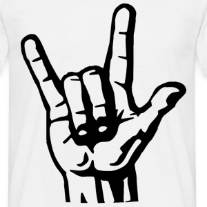 The Hand Of Rock T-Shirts - Men's T-Shirt