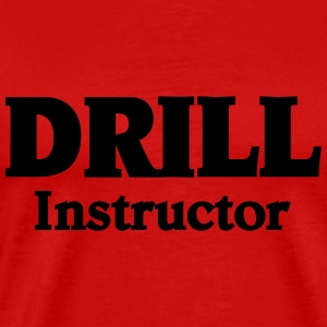 Drill Instructor T-shirts - Herre premium T-shirt