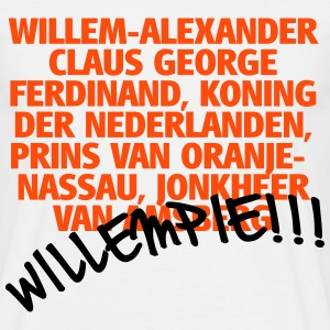 Willempie!!! T-shirts - Mannen T-shirt