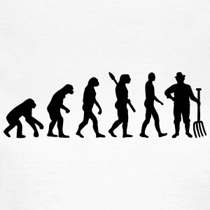 Evolution Bauer T-Shirts - Frauen T-Shirt