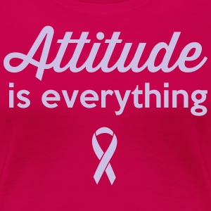 Attitude is Everything T-Shirts - Women's Premium T-Shirt