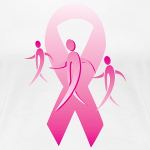 Breast Cancer Ribbon Walkers T-Shirts - Women's Premium T-Shirt