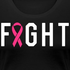Fight Ribbon T-Shirts - Women's Premium T-Shirt