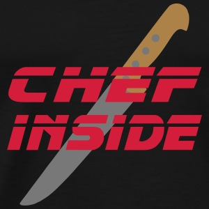 chef inside Tee shirts - T-shirt Premium Homme