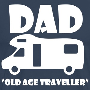 Old Age Traveller T-Shirts - Men's Premium T-Shirt