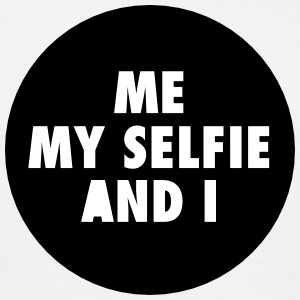 Me My Selfie And I T-shirts - Mannen T-shirt